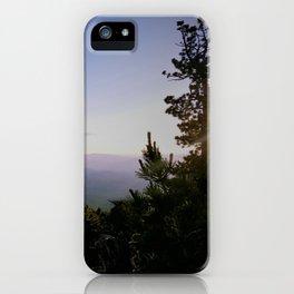 Cascade Mountain View iPhone Case