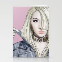 moschino Stationery Cards featuring Barbiedoll by Samera Tseng