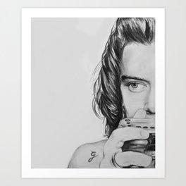 HS camera sketch Art Print