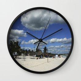 Carribean sea 15 Wall Clock