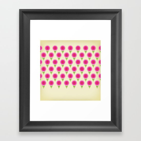 pattern05 Framed Art Print