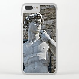 The Statue of David Clear iPhone Case