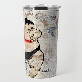 Street Art Chinese Takeout London Urban Wall Graffiti Artist Prolifik Travel Mug