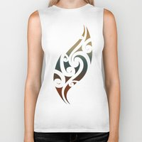 maori Biker Tanks featuring Maori Style by Lonica Photography & Poly Designs
