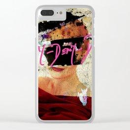 DENY DENY DENY Clear iPhone Case