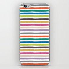 Fall Stripes iPhone Skin