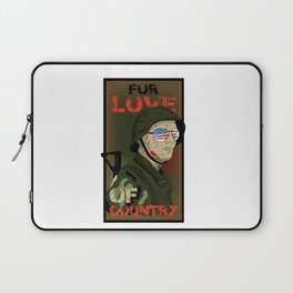 For Love Of Country Laptop Sleeve