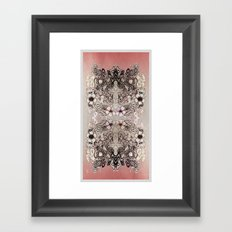 Entangled Bouquet Framed Art Print