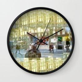 Domino evasion, camouflaged subtley, machinations. Wall Clock