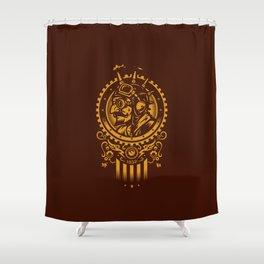 Steampunk 1852 Shower Curtain