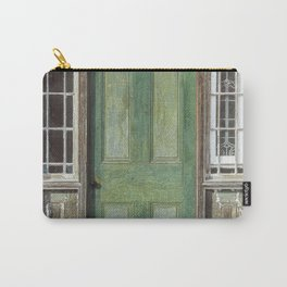 Vintage Door Carry-All Pouch