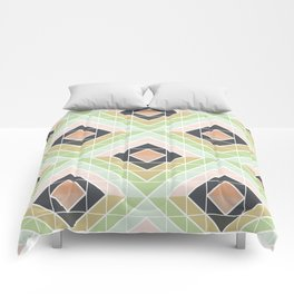 Retro Mod Diamonds Comforters