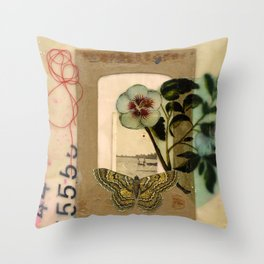 Day of the Red Sun Throw Pillow
