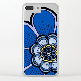 Flower 18 Clear iPhone Case