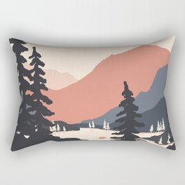 View From the East Shore... Rectangular Pillow