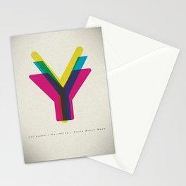 """San Serif """"Y"""" Stationery Cards"""