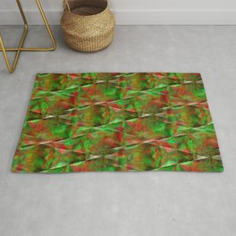 Holiday wrapping Rug