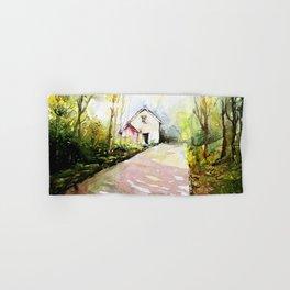 Beautiful Cottage Garden Painting Hand & Bath Towel