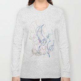 Nonsensical Scribbles Long Sleeve T-shirt