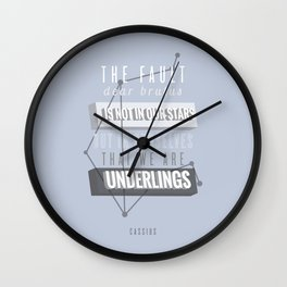 Cassius Wall Clock