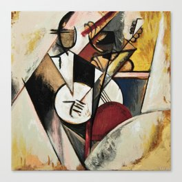 Study after Gleizes' Composition pour Jazz Canvas Print