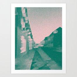 Ireland - Original Duotone Abstract Street Photo Design Art Print