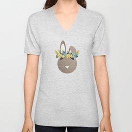 Spring Hare Unisex V-Neck