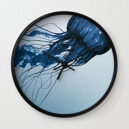 Blue Danube, Pacific Sea Nettle Wall Clock