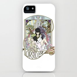 Cursed Love - Mavis and Zeref iPhone Case