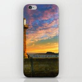 Dawn over Black Nab iPhone Skin