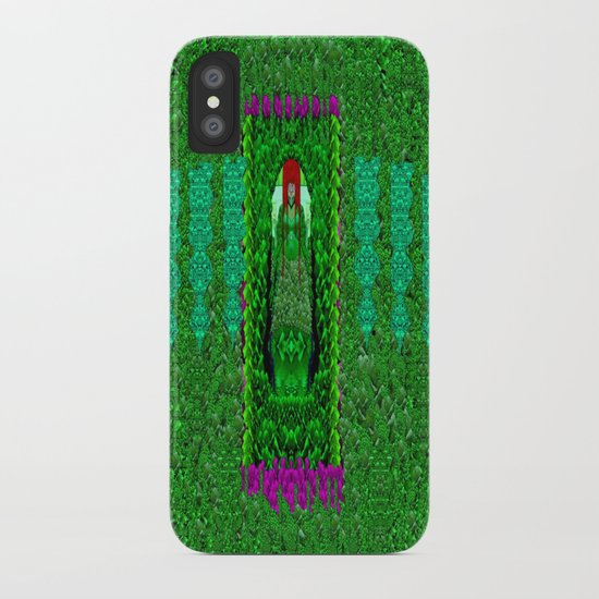 Peace Mermaid Cat iPhone Case