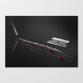 Cocaine Music Canvas Print