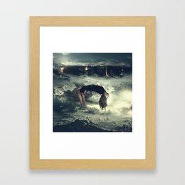 Karma Coma Framed Art Print