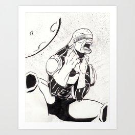 """Blind"" Art Print"