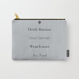 A Few of My Favorite Things Carry-All Pouch