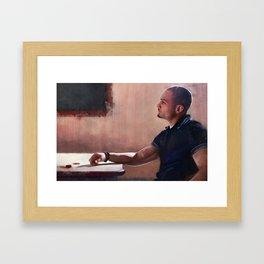 Don Nacho Varga Of The Salamanca Cartel - Better Call Saul Framed Art Print