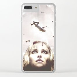 The 100 - Clarke Clear iPhone Case