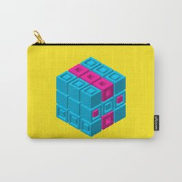 Structure 001: Cube of Cubes Carry-All Pouch