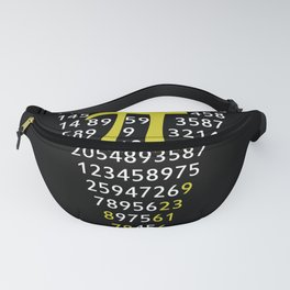 A Slice Of Pi Pizza Fanny Pack