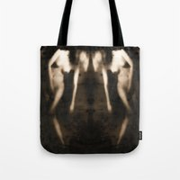 erotic Tote Bags featuring Love & Longing - Erotic Art by Falko Follert Art-FF77