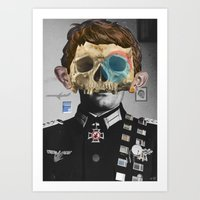 war Art Prints featuring War Collage 2 by Marko Köppe