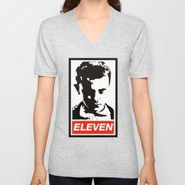 Eleven - Obey Unisex V-Neck