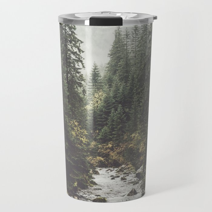 Mountain creek - Landscape and Nature Photography Travel Mug