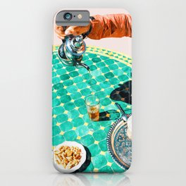 Chai, India Culture & People Painting, Exotic Travel Places Tea Bohemian Colorful Morocco Turkish iPhone Case