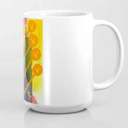 Wave yellow Coffee Mug