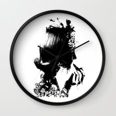 WOMAN SOLDIER Wall Clock