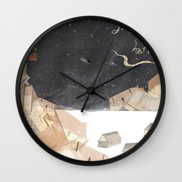 We Will Keep You, Little One, Safe From Harm Wall Clock