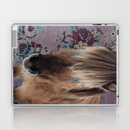 floral Icelandic pony Laptop & iPad Skin