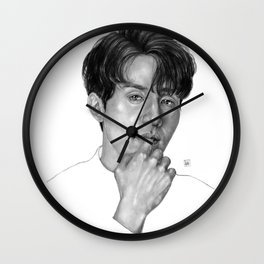 Lee Dong Wook Wall Clock