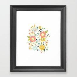 Airy GardenPillow Framed Art Print